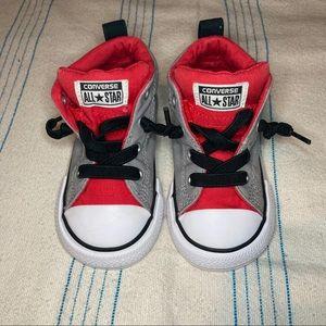 Converse Allstar 6T Red, gray, black